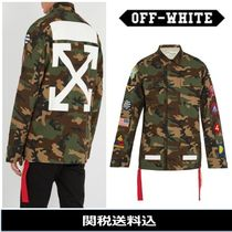 Off-White Camouflage Street Style Jackets