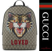 GUCCI A4 Oversized Backpacks