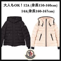MONCLER Short Bi-color Plain Elegant Style Down Jackets