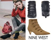 Nine West Casual Style Street Style Plain Leather