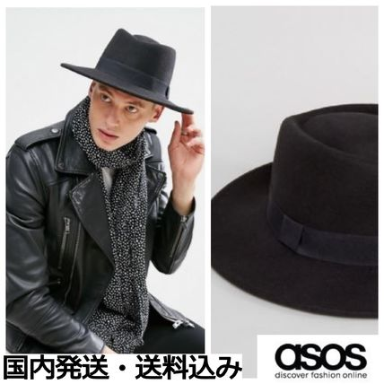 ASOS 2017-18AW Wide-brimmed Hats by nanoha-nago - BUYMA d414d8c639b