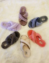 UGG Australia Open Toe Sheepskin Shoes