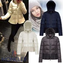 MONCLER NESEA Short Plain Down Jackets