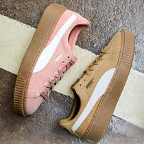 PUMA SUEDE Suede Low-Top Sneakers