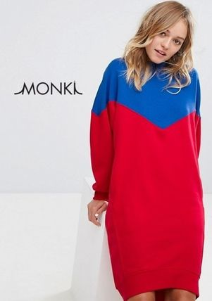aee91e5bf1 MONKI 2017-18AW Women s Dresses Sweat  Shop Online in US