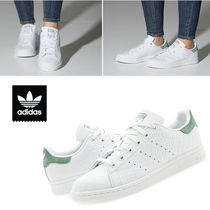 Adidas stan smith 2018 19aw stile casual unisex street style del cuoio