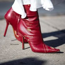 VETEMENTS Casual Style Plain Over-the-Knee Boots
