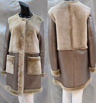 Fur Plain Medium Fur Leather Jackets Biker Jackets