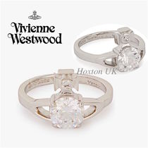 Vivienne Westwood Costume Jewelry Casual Style Street Style Silver Rings