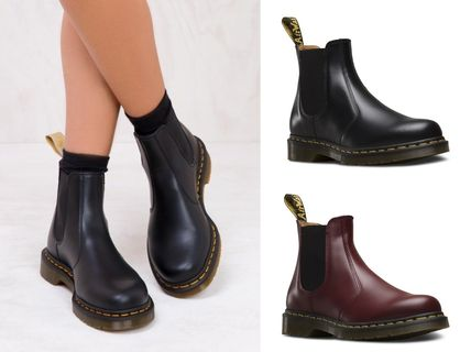 Dr Martens 2017 Cruise Plain Leather Flat Boots (22227600)