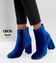 ASOS Velvet Ankle & Booties Boots
