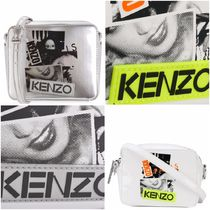 KENZO Leather Shoulder Bags