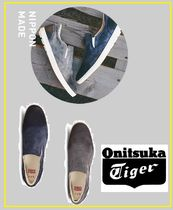 Onitsuka Tiger Street Style Plain Loafers & Slip-ons