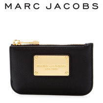 Marc by Marc Jacobs Chain Plain Leather Card Holders