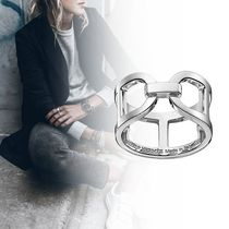 HERMES Casual Style Silver Rings