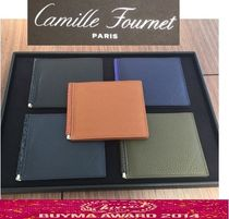 Camille Fournet Unisex Leather Folding Wallets
