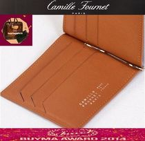Camille Fournet Leather Folding Wallets