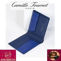 Camille Fournet Leather Handmade Folding Wallets