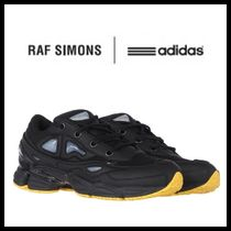 RAF SIMONS Ozweego Street Style Collaboration Leather Sneakers
