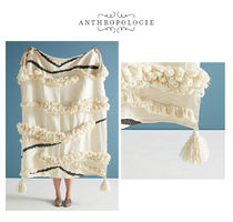 Anthropologie Plain Ethnic Throws
