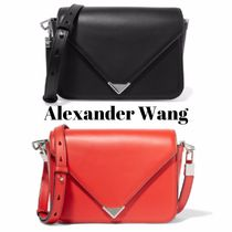Alexander Wang Casual Style Plain Leather Shoulder Bags