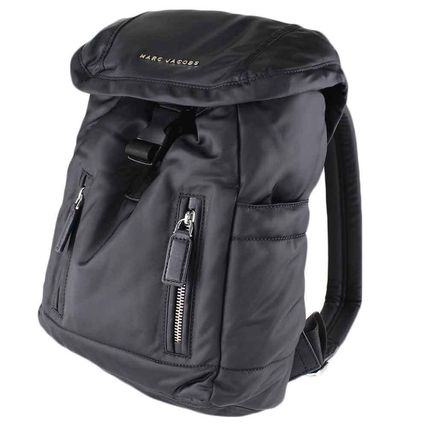 Casual Style Nylon Plain Backpacks