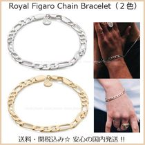 Chained & Able Street Style Chain Plain Bracelets
