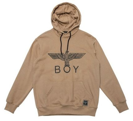 BOY LONDON Hoodies Pullovers Street Style Long Sleeves Other Animal Patterns 6