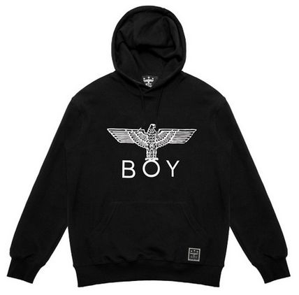 BOY LONDON Hoodies Pullovers Street Style Long Sleeves Other Animal Patterns 10