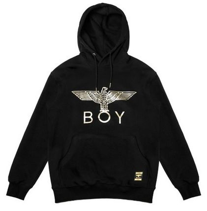 BOY LONDON Hoodies Pullovers Street Style Long Sleeves Other Animal Patterns 12