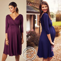 TIFFANY ROSE Maternity Dresses WILLOW DRESS (ECLIPSE BLUE)