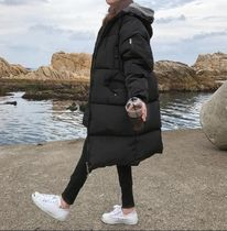 Casual Style Long Oversized Down Jackets