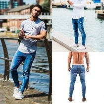 11 Degrees Street Style Cotton Skinny Fit Jeans & Denim