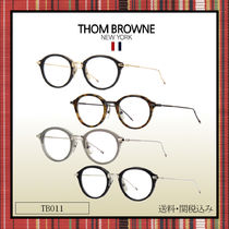 THOM BROWNE Oval Optical Eyewear