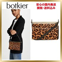 Botkier 2WAY Other Animal Patterns Leather Party Style Clutches