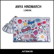 Anya Hindmarch Heart Casual Style Street Style Clutches