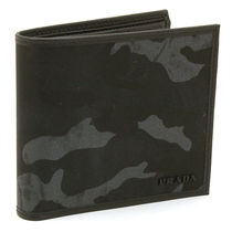 PRADA Camouflage Nylon Folding Wallets