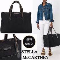 Stella McCartney FALABELLA Plain Elegant Style Boston & Duffles