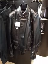 Lewis Leathers Street Style Plain Leather Biker Jackets