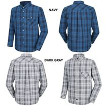 THE NORTH FACE Glen Patterns Tartan Low Gauge Street Style Long Sleeves