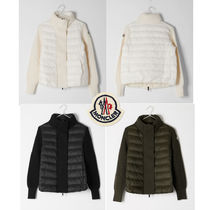 MONCLER JERSEY  Short Casual Style Wool Down Jackets