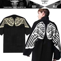 BOY LONDON Studded Long Souvenir Jackets