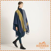 HERMES Wool Ponchos & Capes