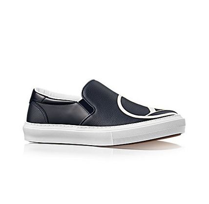 Louis Vuitton Street Style Plain Leather Loafers & Slip-ons
