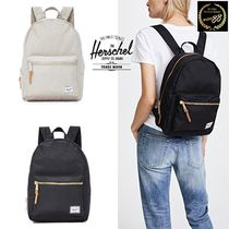 Ron Herman Stripes Casual Style Cambus Plain Backpacks