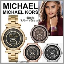 Michael Kors Stainless With Jewels Elegant Style Accessories