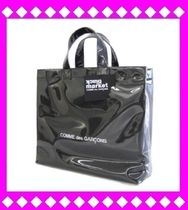 COMME des GARCONS Casual Style Unisex A4 PVC Clothing Totes