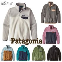 Patagonia Casual Style Long Sleeves Plain Medium Tops