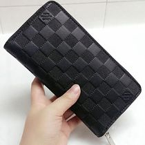 Louis Vuitton ZIPPY WALLET VERTICAL Other Check Patterns Street Style Leather Long Wallets