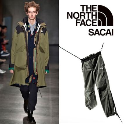sacai Collaboration Plain Khaki Pants